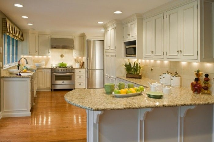 Moderne Küche Granit Platten