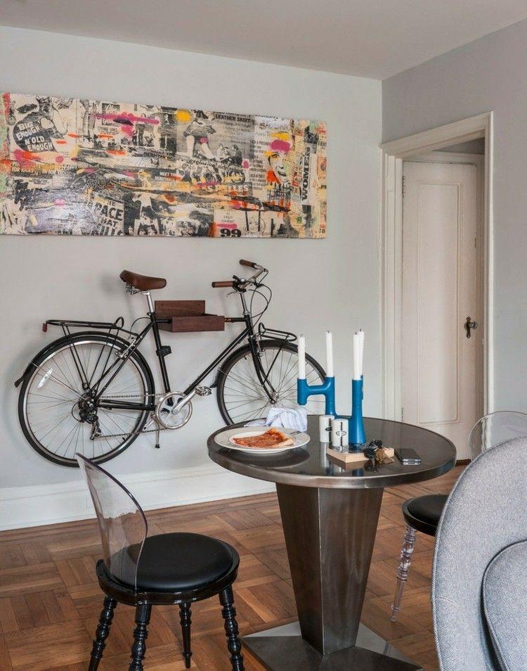 Platz für das Fahrrad