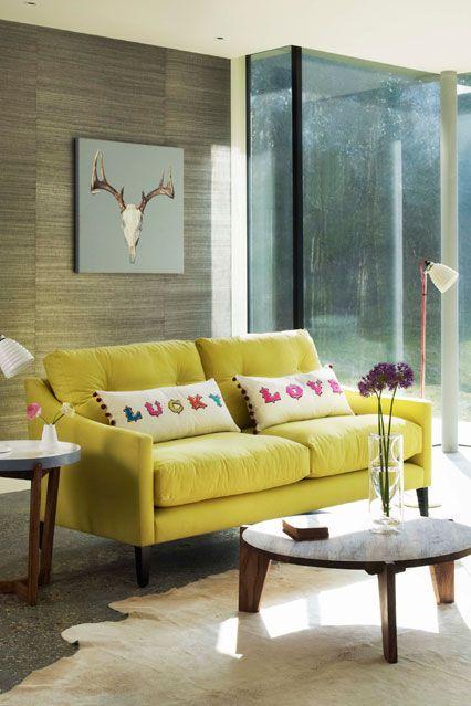 Sessel Holzwand Gestaltung Ideen