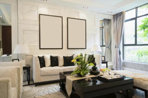 Wohnideen Wohnzimmer-Farben deko