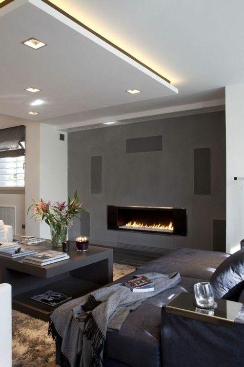 wohnzimmer-deckengestaltung-integrierte-deckenbeleuchtung