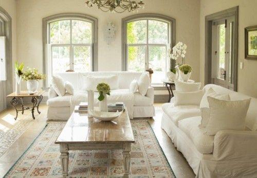 Wohnzimmer Einrichtung pure Eleganz