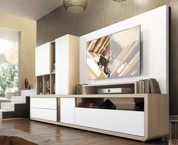 Wohnzimmermöbel modern weiß  Wohnzimmer Möbel Set - das A und O der moderne ...