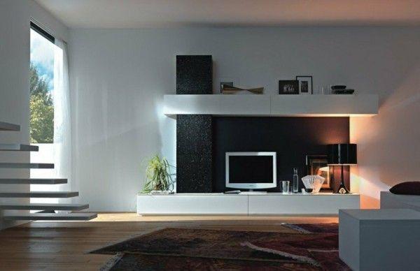 Wohnzimmermobel Modern Weis Kombination Mit Moderne Mobel