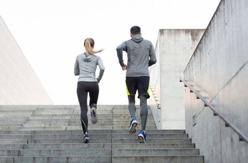 aktiver Sport tägliches Joggen Stress abbauen