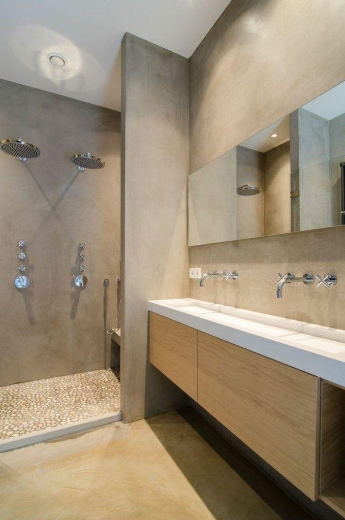 Badezimmer Ideen Fur Modernes Bad In Braun