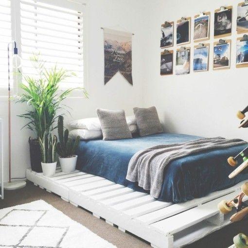 Bett Paletten bett aus paletten eine praktische diy idee für umweltbewusste