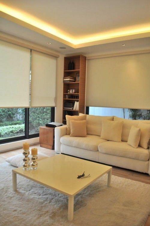 deckengestaltung wohnzimmer beispiele. Black Bedroom Furniture Sets. Home Design Ideas