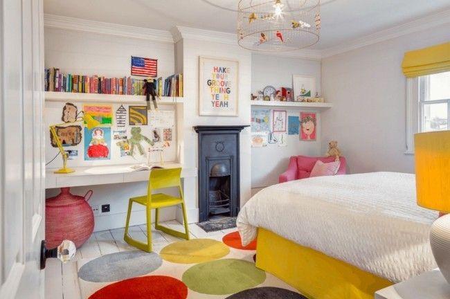 Ein modernes und buntes kinderzimmer gestalten – 20 kreative ideen ...