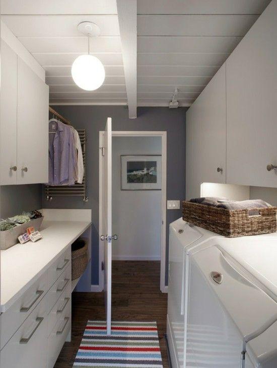 interessante Waschküche-Einrichtungsideen