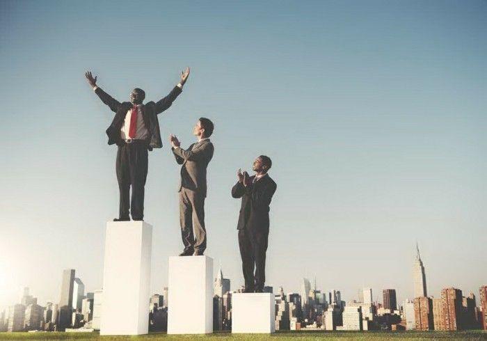 jahrelanger Aufstieg- im Business Gesellschaft ist vorprogrammiert