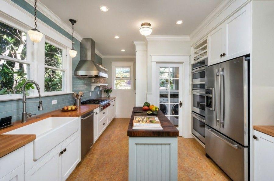 küchen selber planen kücheninsel holz