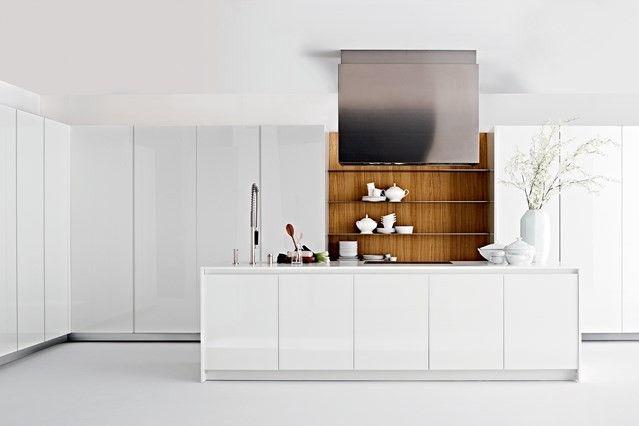 küchenmöbel weiß hochglanz