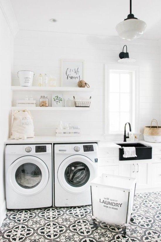 kleine-moderne-Waschküche
