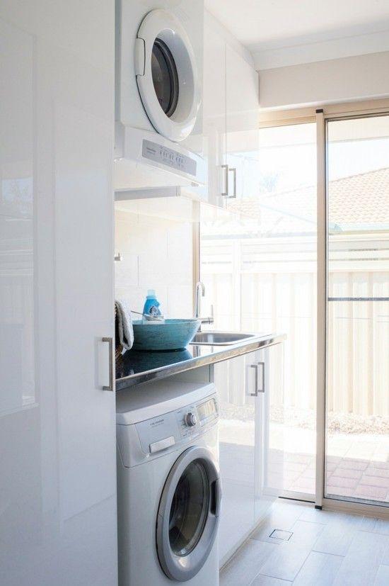 moderne Waschküche