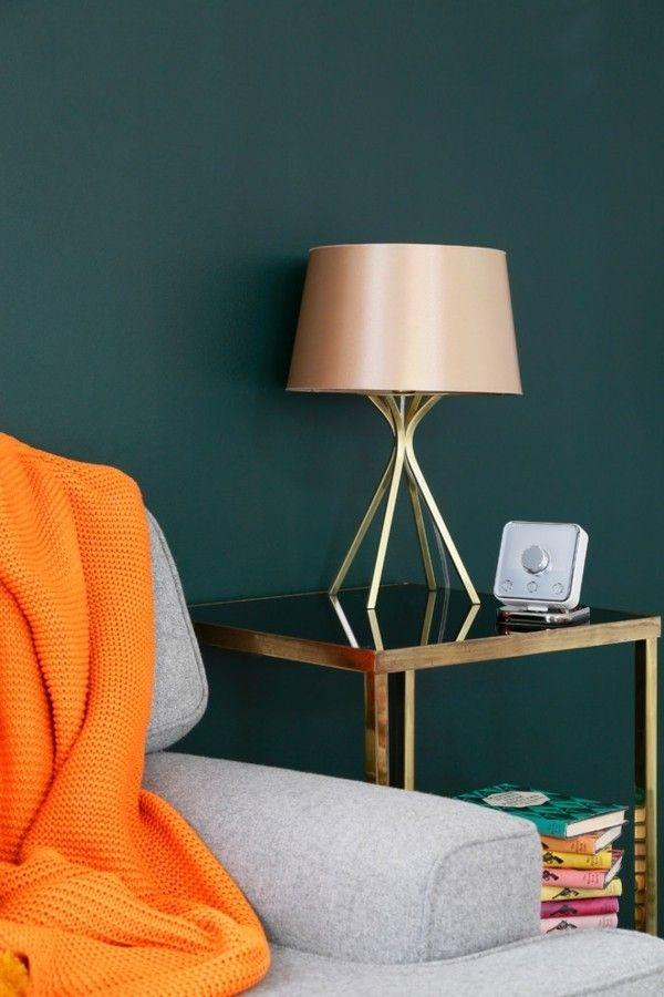 moderne Wohnzimmerlampen Stehlampe Beistelltisch
