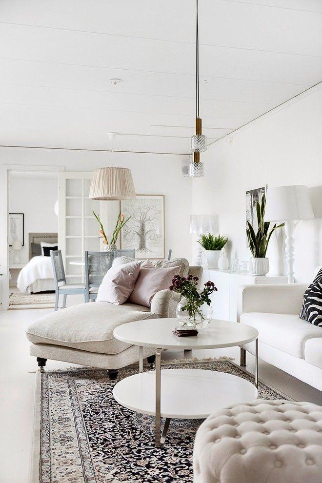modernes Wohnzimmer komfortable Möbel