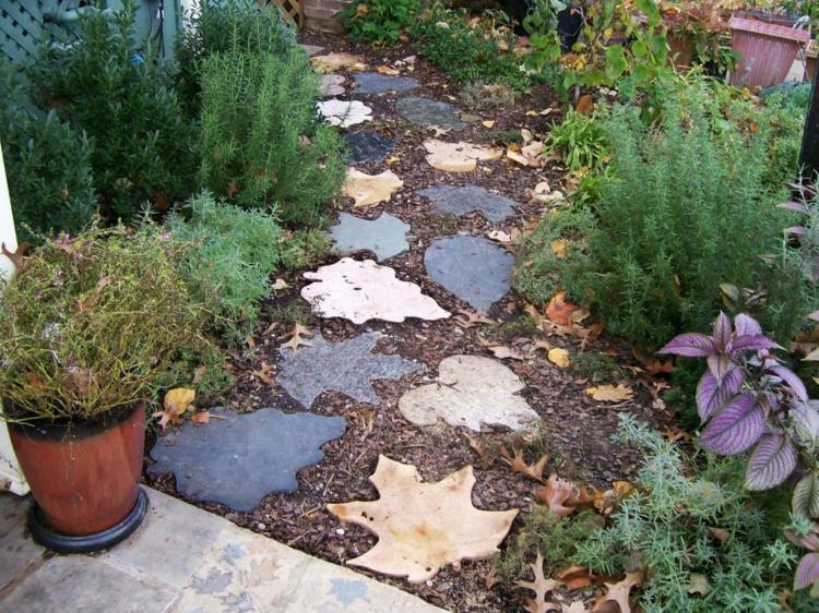 vorgarten und gartenwege