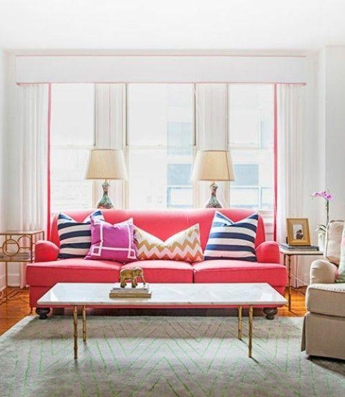 weniger Möbel Wohnzimmer einrichten