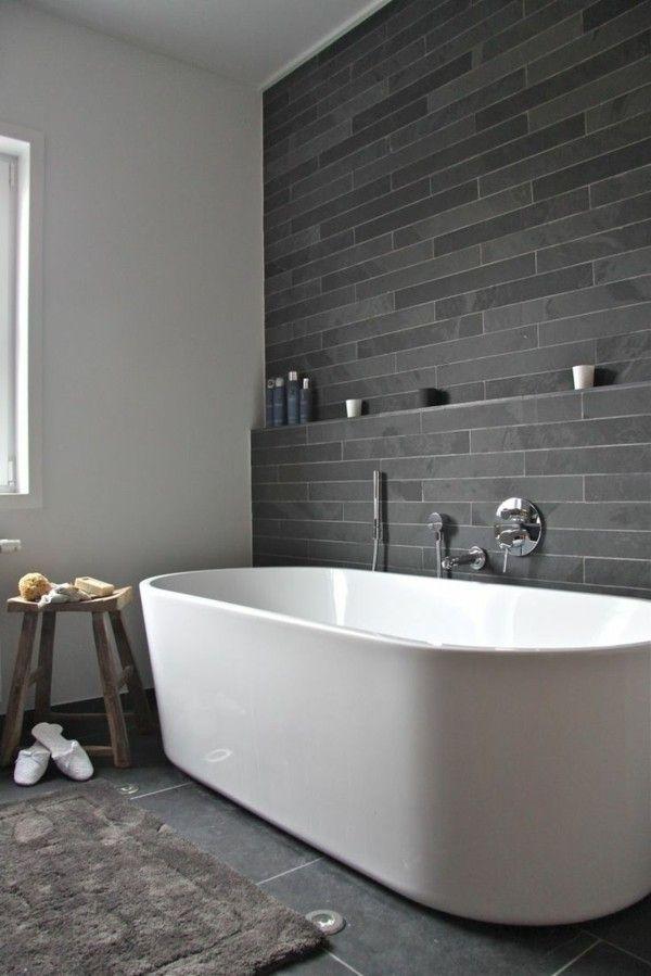 Badezimmer Fliesen Praktische Gestaltung Mit Starker Wirkung - Badezimmer gefliest