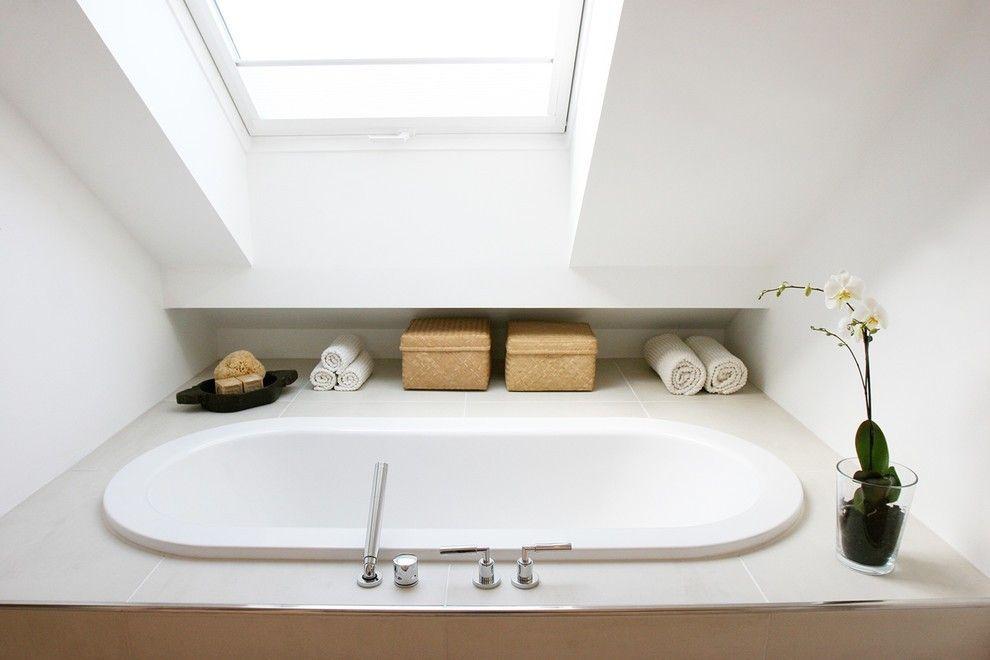 Badezimmer auf dem dachboden viel ruhe mit einer prise - Innenarchitektur badezimmer ...