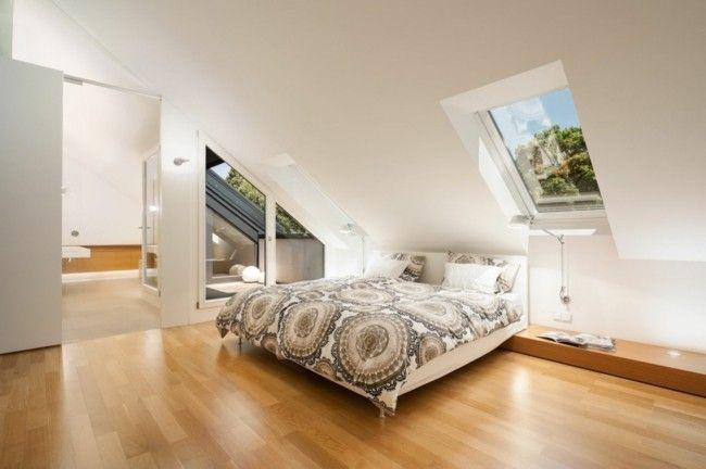 schlafzimmer auf dem dachboden kann u erst gem tlich und. Black Bedroom Furniture Sets. Home Design Ideas