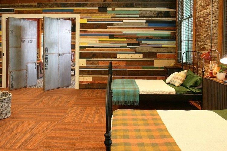Wandgestaltung Mit Holz Trendomat Com