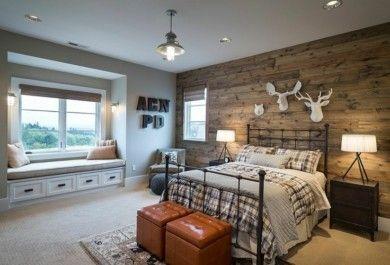 Schlafzimmer ideen wandgestaltung holz  Wandgestaltung mit Holz - Trendomat.com