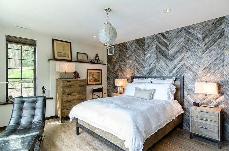 wandgestaltung mit holz. Black Bedroom Furniture Sets. Home Design Ideas