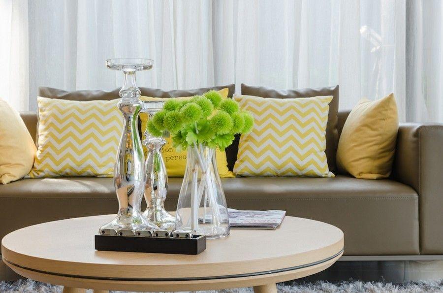 Dekoration Auf Dem Kaffeetisch Wohnzimmer Ideen