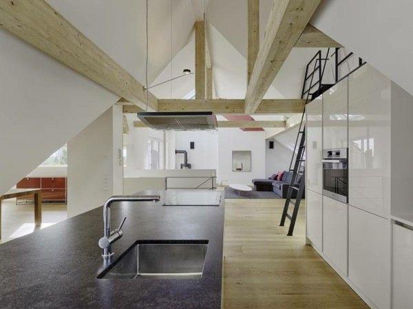 Küche auf dem Dachboden - unentbehrlich im Alltag und ...