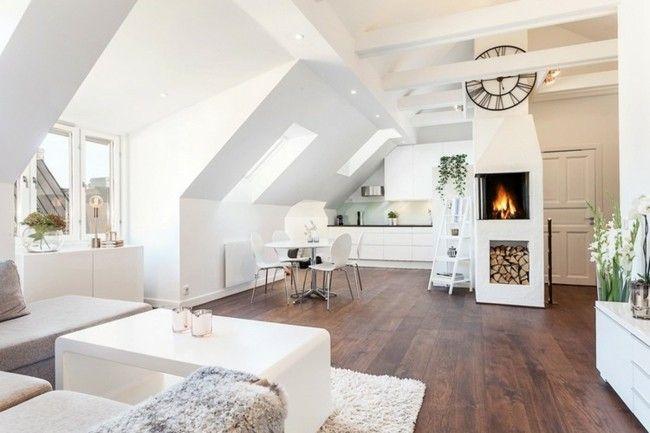 dachboden wohnzimmer ideen alles ber wohndesign und m belideen. Black Bedroom Furniture Sets. Home Design Ideas