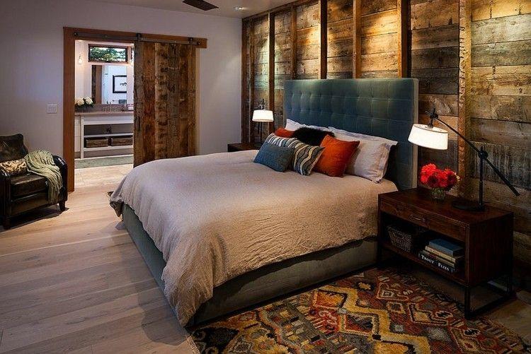 Inspiration zur einrichtung schlafzimmer holzwand  Stunning Inspiration Zur Einrichtung Schlafzimmer Holzwand Images ...