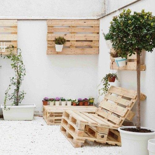 Gartenmöbel aus Paletten
