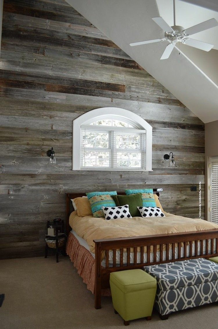 wandgestaltung mit holz - trendomat, Schlafzimmer entwurf