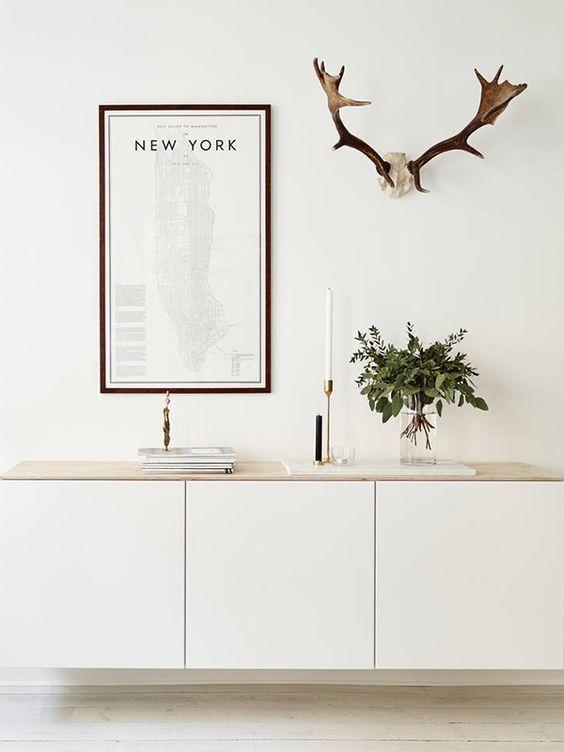 Ikea besta funktionalit t und sthetik in einem for Besta regal wandmontage