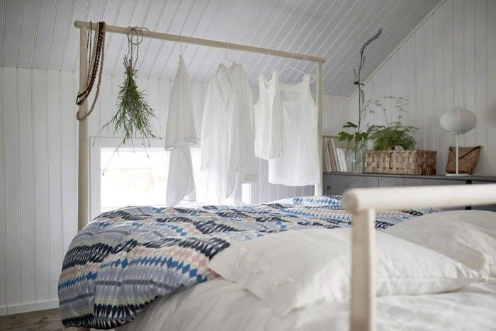 Ikea Schlafzimmer weiß grüne