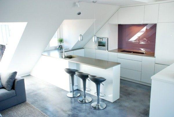 Dachgeschoss Küche küche auf dem dachboden unentbehrlich im alltag und