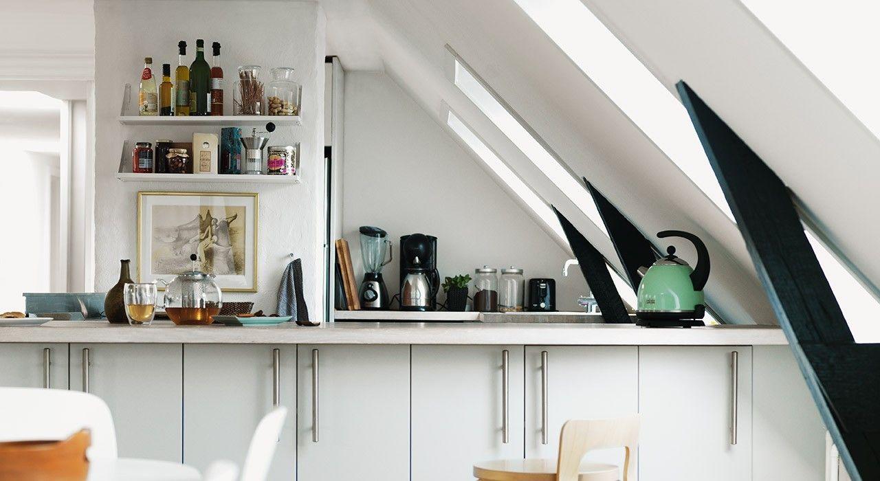 Küche auf dem Dachboden – unentbehrlich im Alltag und super ...