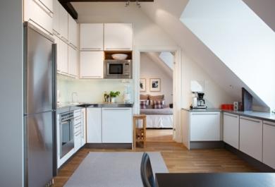 Küche Auf Dem Dachboden U2013 Unentbehrlich Im Alltag Und Super Praktisch  Gestaltet