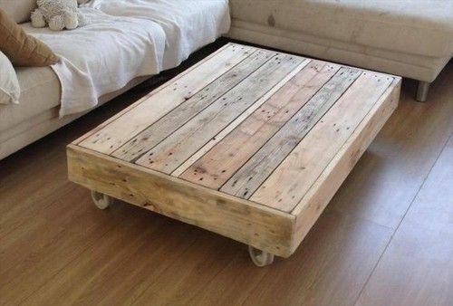 Kaffeetisch-Holzpalette