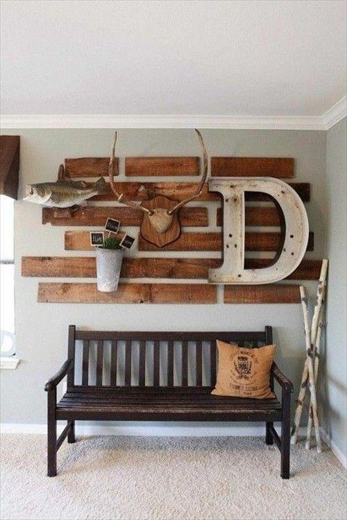 Möbel aus Paletten Wandrega