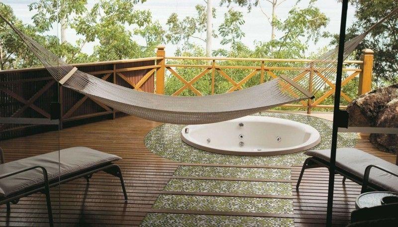 Pool auf der Veranda