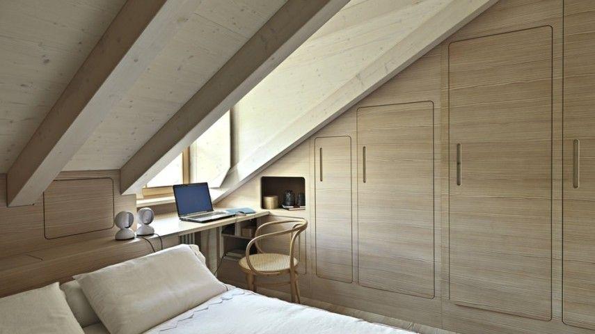 schlafzimmer auf dem dachboden kann u erst gem tlich und komfortabel sein. Black Bedroom Furniture Sets. Home Design Ideas