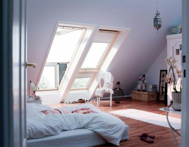 Schlafzimmer auf dem dachboden kann u erst gem tlich und - Zimmer gema tlich gestalten ...