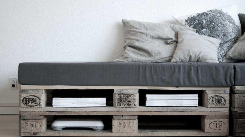 sofa aus paletten - ein praktisches möbel für drinnen und draußen, Gartenmöbel