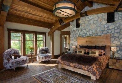 Schlafzimmer Deko – Ideen für das Kopfbrett aus Holz - Trendomat.com
