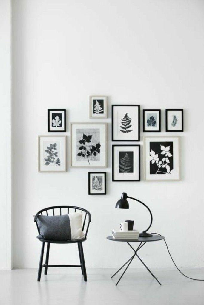 Tolle wanddeko ideen f r ihr zuhause - Bilderwand gestalten ...