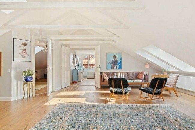 Wohnzimmer Mit Dachschräge Einrichten