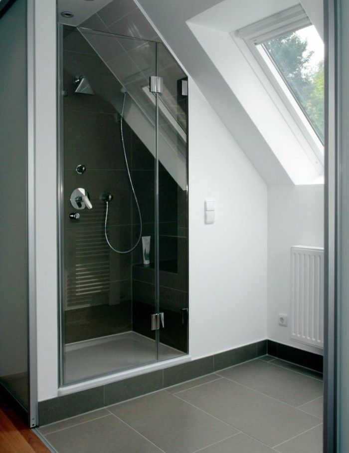 badezimmer auf dem dachboden viel ruhe mit einer prise luxus. Black Bedroom Furniture Sets. Home Design Ideas